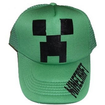 Gorras Minecraft , Creeper, Bandas