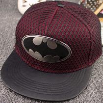 Gorra Plana Snapback-dc Marvel-super Heroe New Placa Batman