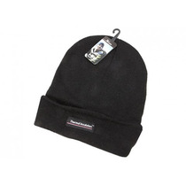 Beanie Térmico - Aislamiento Sombrero Negro Fleece Lining F