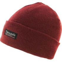 Beanie - Highlander Red Thinsulate Esquí Sombrero Llano Inv