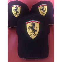 F1 Gorra Ferrari Scudetto Classica 100% Original