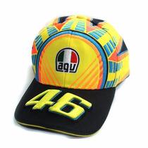 Gorra Valentino Rossi 46 Oficiales The Doctor Con Etiquetas