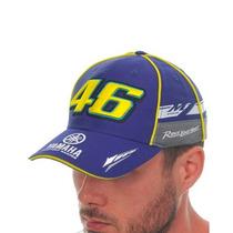 Gorra Valentino Rossi Yamaha Vr46 Azul M1