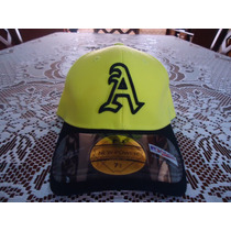 Gorra Amarilla Atleticos D Oakland New Power Original 7 1/8