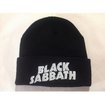 Gorrito Metalero Bordado Rock, Metal Black Sabbath
