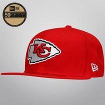 Gorra New Era 5950 Nfl Kansas City Chiefs On Field Game