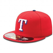 Gorra New Era Mlb Authentic Texas Rangers Originales