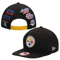 Gorra New Era Steelers. Campeonatos