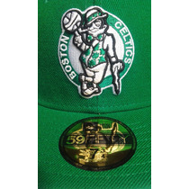 Nba Boston Celtics 7 3/4 New Era 59 Series $335 Nueva V / C