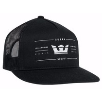 Gorra Supra Unitalla Colores Negro Y Gris, Dc Vans Nike