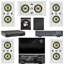 Speakercraft Aim Lcr5 5.1 Five + Harman Kardon Avr3700