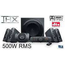 Sistema De Audio 5.1 Certificado Thx Logitech Z906 500w Mn4