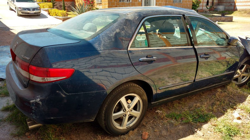 Honda Accord 4p Ex Sedan 2004 Accidentado X Partes