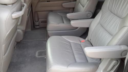 Honda Odyssey Exl 09 Piel Q/c Dvd Gps Cámara En La Reversa