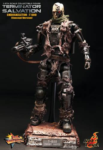 Hot Toys Terminator Edicio Especi Salvation T600 1/6 Nuevo