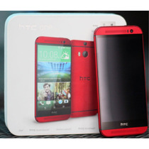 Htc One M8 4g Lte Nuevos 32gb Quadcore 2gb Ram Rojo Sellados