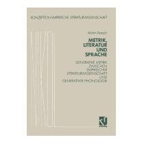 Metrik, Literatur Und Sprache (1991), Achim Barsch