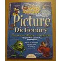 Personajes Disney * Diccionario Ingles - Español Larousse
