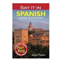 Say It In Spanish (new, Green), Joyce Puebla