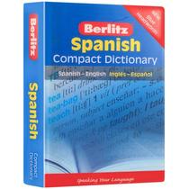 Spanish Compack Dictionary Berlitz Spanish-english Mn4