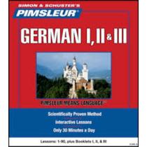 Aprende Alemán Con Método Pimsleur 3 Niveles 90 Sesiones