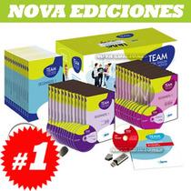 Team Total English Active Method, 12 Vols, 12 Cd, 12 Dvd