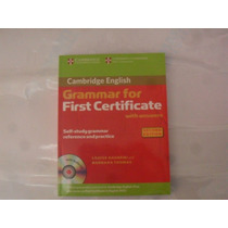 Libro Grammar For First Certificate Con Audio Cd
