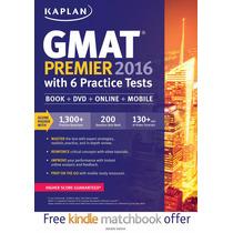 Kaplan Gmat Premier 2016 With 6 Practice Tests Nuevo