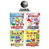 Mi Primera Enciclopedia Interactiva Ingles 4 Vols Planeta
