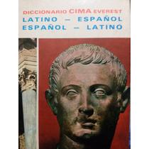 Diccionario Latino-espanol, Espanol-latino, Cima Everest