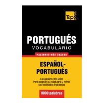 Vocabulario Espanol-portugues - 9000, Andrey Taranov
