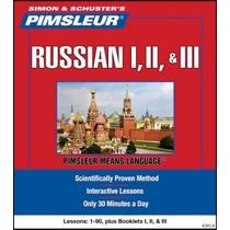 Aprende Ruso Método Pimsleur 3 Niveles 90 Sesiones Audio