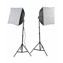 Kit Iluminacion Estudio Fotografico Profesional