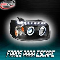 Faros Para Escape Con Tira De Led Mod. 2005 - 2007