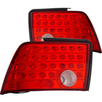 Ford Mustang 99-04 L.e.d T.l Red/clear