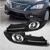 Nissan Sentra 2013 - 2015 Par De Faros Antiniebla Nuevo!!!
