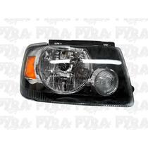 Faro Ford Ranger 05 06 07 08 09 Acccesorios Fondo Negro