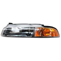 Faro Dodge Stratus 97-98-99-00 Liso C/ajustes Izquierdo