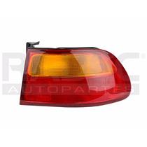 Calavera Exterior Honda Civic 92-95 3p Ambar/rojo C/arnes