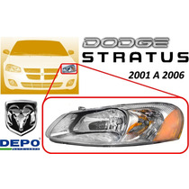 01-06 Dodge Stratus Faro Delantero Lado Izquierdo Marca Depo