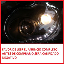 Faro Lupa Con Leds Ojo De Angel Eyes Para Mini Cooper 01-08