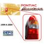 99-04 Pontiac Montana Calavera Trasera Lado Derecho Depo
