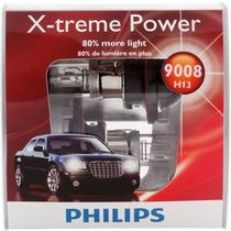 Philips H13 9008 X-treme Focos Para Auto