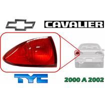 00-02 Chevrolet Cavalier Calavera Trasera Lado Izquierdo Tyc