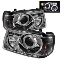 Par Faros Lupa Ojo Angel Led Ford Ranger 2002 2003 2004 2005