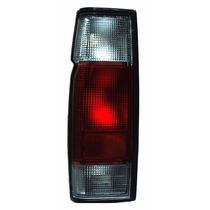 Calavera Nissan Pick Up D21 2002-2014 Rojo/blanco S/arnes