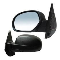 Espejo Silverado 2006 - 2010 S/contr Negro Chino Izquierdo