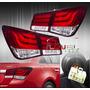 Calaveras De Leds Y Tubo De Neon Chevrolet Cruze