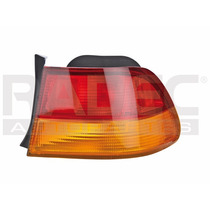 Calavera Exterior Honda Civic 96-98 2p Ambar/rojo C/arnes