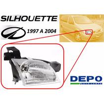 97-04 Oldsmobile Silhouette Faro Delantero Lado Derecho Depo